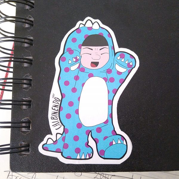 Chibimonsters stickers pack